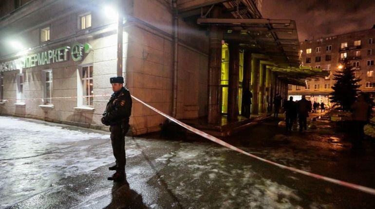 Размещена фотография бомбы измагазина «Перекресток» в северной столице