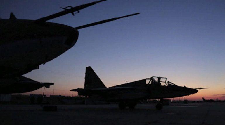 Минобороны заметило самолет-разведчик США вовремя атаки наХмеймим