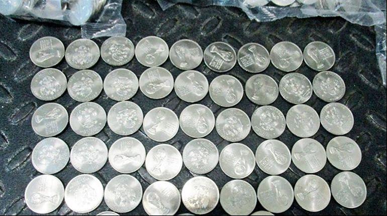 Полторы тонны монет за границу не укатились