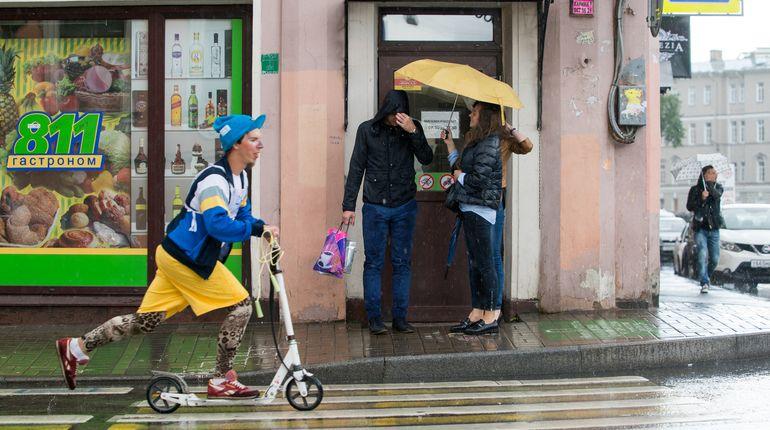 Прошедший год в Петербурге оказался самым дождливым за всю историю метеонаблюдений